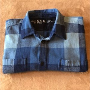 GAP COTTON RUSTIC OVERSHIRT